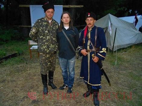 Слева направо: С.Гуцалюк, И.Канивец, В.Любуня. Фото С.Гуцалюка