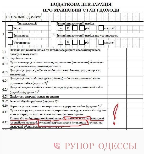 Будут лиодесские чиновники указывать взятки вдекларации одоходах? (Фото) - Рупор Одессы
