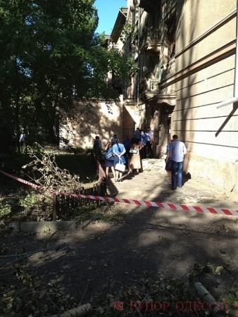 Утром в Одессе дворники нашли труп женщины